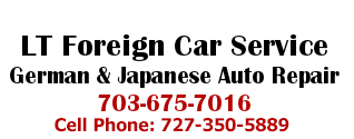LT Foreign Car Service German & Japanese Auto Repair